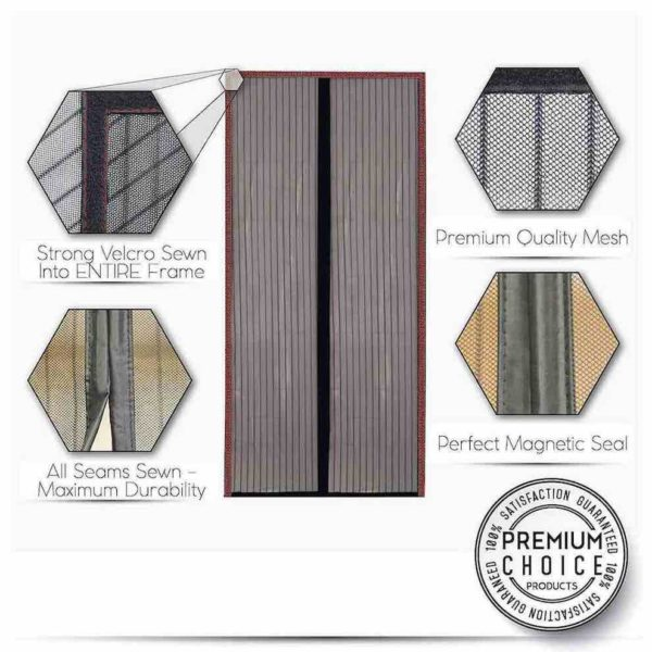 cheapest magnetic screen door australia new zealand